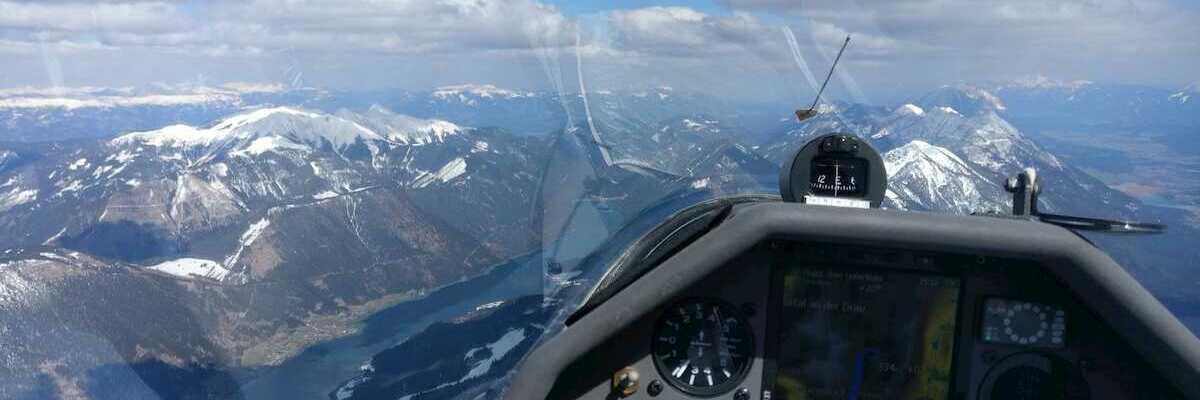 Flugwegposition um 13:32:52: Aufgenommen in der Nähe von Gemeinde Gitschtal, Gitschtal, Österreich in 2749 Meter