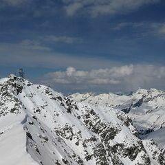 Verortung via Georeferenzierung der Kamera: Aufgenommen in der Nähe von Gemeinde Klösterle, Österreich in 2713 Meter