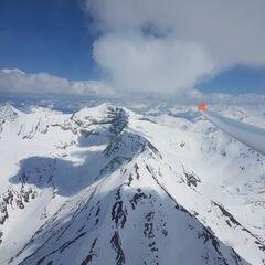 Verortung via Georeferenzierung der Kamera: Aufgenommen in der Nähe von Gemeinde Heiligenblut, 9844, Österreich in 3346 Meter