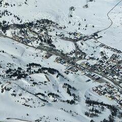 Flugwegposition um 13:13:40: Aufgenommen in der Nähe von Gemeinde Tweng, Tweng, Österreich in 3010 Meter