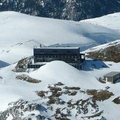 Flugwegposition um 14:24:46: Aufgenommen in der Nähe von Gemeinde Thörl, Österreich in 2247 Meter