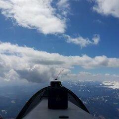 Flugwegposition um 11:12:24: Aufgenommen in der Nähe von Gemeinde Metnitz, Österreich in 2903 Meter