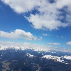 Flugwegposition um 11:12:27: Aufgenommen in der Nähe von Gemeinde Metnitz, Österreich in 2910 Meter