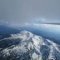 Flugwegposition um 14:47:04: Aufgenommen in der Nähe von Oberweg, Österreich in 3462 Meter