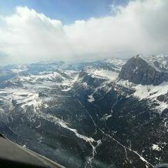 Verortung via Georeferenzierung der Kamera: Aufgenommen in der Nähe von 32043 Cortina d'Ampezzo, Belluno, Italien in 3102 Meter