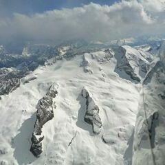 Verortung via Georeferenzierung der Kamera: Aufgenommen in der Nähe von 32020 Livinallongo del Col di Lana, Belluno, Italien in 3800 Meter