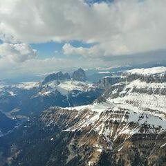 Verortung via Georeferenzierung der Kamera: Aufgenommen in der Nähe von 38032 Canazei, Trentino, Italien in 3500 Meter