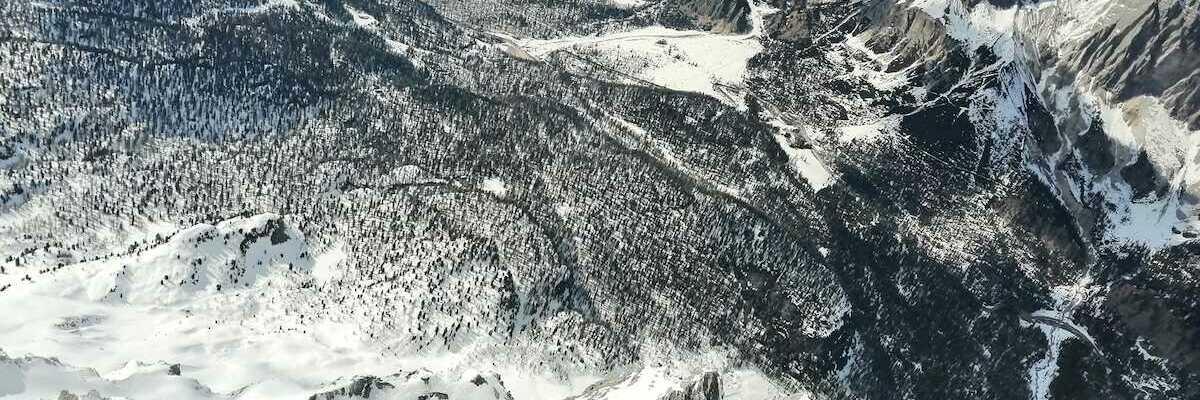 Verortung via Georeferenzierung der Kamera: Aufgenommen in der Nähe von 32043 Cortina d'Ampezzo, Belluno, Italien in 3500 Meter