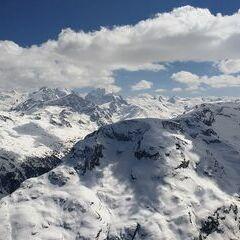 Verortung via Georeferenzierung der Kamera: Aufgenommen in der Nähe von Maloja, Schweiz in 3200 Meter