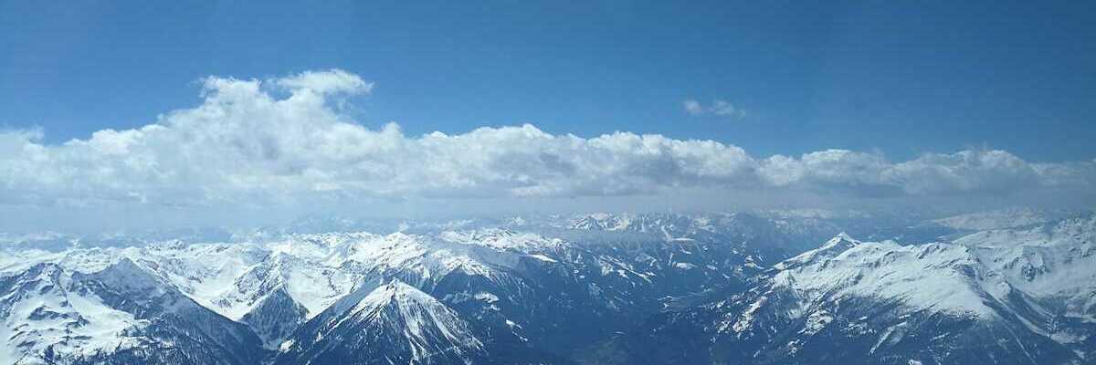 Flugwegposition um 10:57:33: Aufgenommen in der Nähe von Mallnitz, Österreich in 3349 Meter