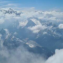 Flugwegposition um 14:11:45: Aufgenommen in der Nähe von Gemeinde Scharnitz, 6108, Österreich in 3281 Meter