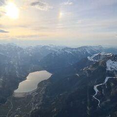 Flugwegposition um 16:49:24: Aufgenommen in der Nähe von Gemeinde Wiesing, Österreich in 2537 Meter