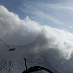 Flugwegposition um 16:03:36: Aufgenommen in der Nähe von 39041 Brenner, Südtirol, Italien in 3058 Meter