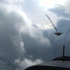 Flugwegposition um 16:09:51: Aufgenommen in der Nähe von 39041 Brenner, Südtirol, Italien in 3342 Meter
