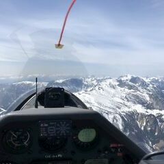 Flugwegposition um 10:40:07: Aufgenommen in der Nähe von Gußwerk, Österreich in 2295 Meter