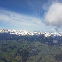 Flugwegposition um 11:10:24: Aufgenommen in der Nähe von Oberwölz Umgebung, Österreich in 2675 Meter