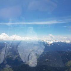 Flugwegposition um 11:10:28: Aufgenommen in der Nähe von Oberwölz Umgebung, Österreich in 2668 Meter