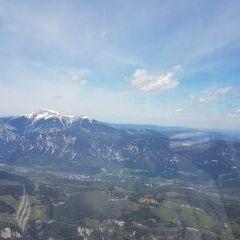 Flugwegposition um 12:42:02: Aufgenommen in der Nähe von Gemeinde Schottwien, Österreich in 1930 Meter