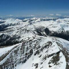 Flugwegposition um 11:03:54: Aufgenommen in der Nähe von Gemeinde Ramingstein, 5591, Österreich in 2725 Meter