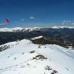 Flugwegposition um 12:48:53: Aufgenommen in der Nähe von Gemeinde Arriach, 9543, Österreich in 2201 Meter