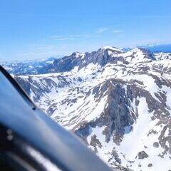 Verortung via Georeferenzierung der Kamera: Aufgenommen in der Nähe von Gemeinde Thörl, Österreich in 2300 Meter