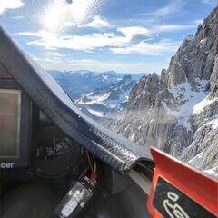 Verortung via Georeferenzierung der Kamera: Aufgenommen in der Nähe von Gemeinde Filzmoos, 5532, Österreich in 2700 Meter