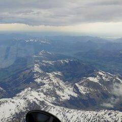 Verortung via Georeferenzierung der Kamera: Aufgenommen in der Nähe von Gemeinde Saalbach-Hinterglemm, Österreich in 4800 Meter