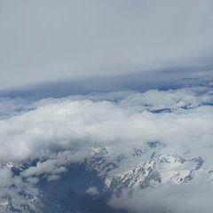 Flugwegposition um 09:21:23: Aufgenommen in der Nähe von Gemeinde Kappl, Österreich in 5671 Meter