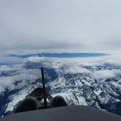 Flugwegposition um 09:34:56: Aufgenommen in der Nähe von Gemeinde Sautens, Sautens, Österreich in 5119 Meter