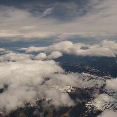 Flugwegposition um 09:34:19: Aufgenommen in der Nähe von Stummerberg, 6276 Stummerberg, Österreich in 4788 Meter