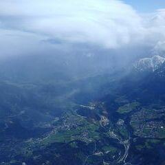 Verortung via Georeferenzierung der Kamera: Aufgenommen in der Nähe von Innsbruck, Österreich in 3400 Meter