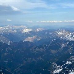 Flugwegposition um 15:25:59: Aufgenommen in der Nähe von Radmer, 8795, Österreich in 3044 Meter