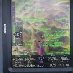 Verortung via Georeferenzierung der Kamera: Aufgenommen in der Nähe von Gemeinde Mariazell, 8630 Mariazell, Österreich in 2369 Meter