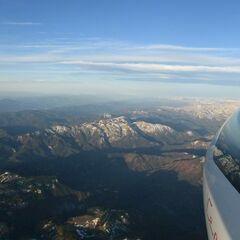 Flugwegposition um 04:06:14: Aufgenommen in der Nähe von Altenberg an der Rax, Österreich in 3372 Meter