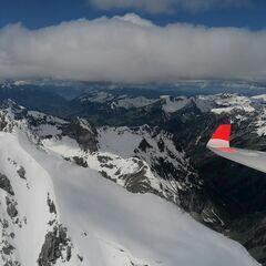 Verortung via Georeferenzierung der Kamera: Aufgenommen in der Nähe von Gemeinde Schröcken, Österreich in 2800 Meter