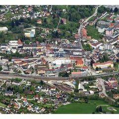 Flugwegposition um 15:15:07: Aufgenommen in der Nähe von Kapellen, Österreich in 2029 Meter