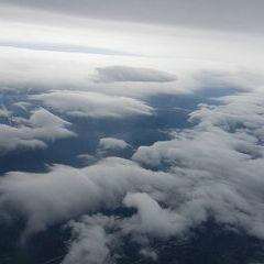 Flugwegposition um 08:53:27: Aufgenommen in der Nähe von Gemeinde Prigglitz, Österreich in 3401 Meter