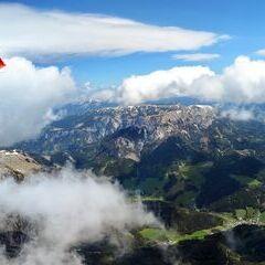 Flugwegposition um 10:01:20: Aufgenommen in der Nähe von Gemeinde Neuberg an der Mürz, 8692, Österreich in 2747 Meter