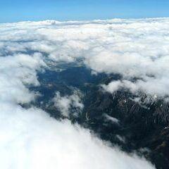 Flugwegposition um 11:00:08: Aufgenommen in der Nähe von Gemeinde Vordernberg, 8794, Österreich in 3441 Meter