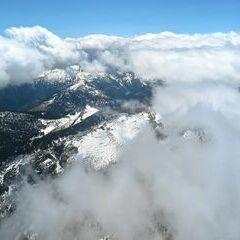 Flugwegposition um 11:20:03: Aufgenommen in der Nähe von Johnsbach, 8912 Johnsbach, Österreich in 2571 Meter