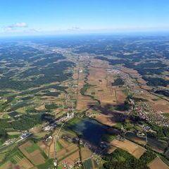 Flugwegposition um 14:07:20: Aufgenommen in der Nähe von Studenzen, 8322, Österreich in 1776 Meter