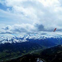 Flugwegposition um 12:55:39: Aufgenommen in der Nähe von Gemeinde Maria Alm am Steinernen Meer, 5761, Österreich in 2685 Meter
