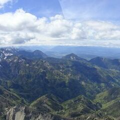 Flugwegposition um 13:02:26: Aufgenommen in der Nähe von Gemeinde Zell, Österreich in 2272 Meter