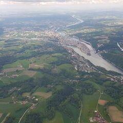 Verortung via Georeferenzierung der Kamera: Aufgenommen in der Nähe von Gemeinde Freinberg, Österreich in 1500 Meter