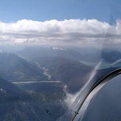Flugwegposition um 13:04:50: Aufgenommen in der Nähe von Bad Tölz-Wolfratshausen, Deutschland in 2471 Meter