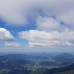 Verortung via Georeferenzierung der Kamera: Aufgenommen in der Nähe von Okres Klatovy, Tschechien in 1700 Meter