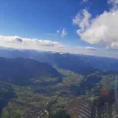 Flugwegposition um 15:39:29: Aufgenommen in der Nähe von Stummerberg, 6276 Stummerberg, Österreich in 2681 Meter