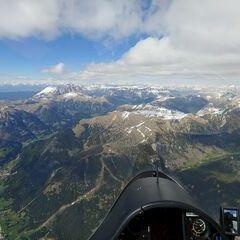 Verortung via Georeferenzierung der Kamera: Aufgenommen in der Nähe von Sèn Jan di Fassa, Trentino, Italien in 3400 Meter
