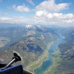 Flugwegposition um 12:37:48: Aufgenommen in der Nähe von Gemeinde Weißensee, Österreich in 2658 Meter
