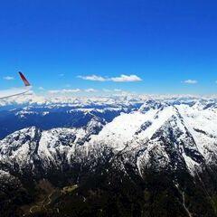 Flugwegposition um 11:31:02: Aufgenommen in der Nähe von Gemeinde Weißbach bei Lofer, 5093, Österreich in 2733 Meter